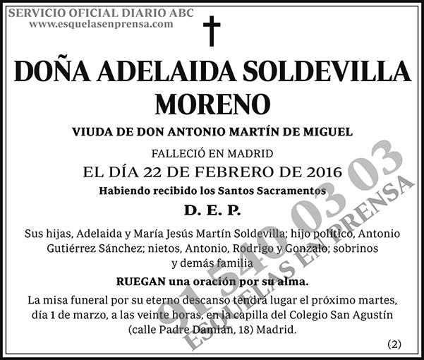 Adelaida Soldevilla Moreno